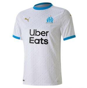 NEW Olympique de Marseille 2020/21 Men's Home Football Jersey by Puma