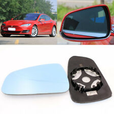 Wing Mirror Side Mirror Blue Glass With Base Heated 1 Pair For Tesla Model S