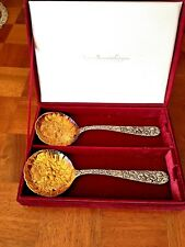 Godinger Silver Art Co Berry serving Spoons American Silversmiths Collection