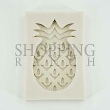 Pineapple verano con temática de Silicona Molde Cupcake Topper Decoración Molde Fondant para