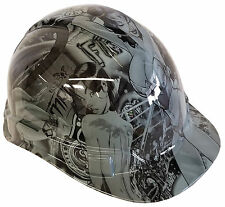 Hard Hat Light Grey Wonder Women w/ Free BRB Customs T-Shirt