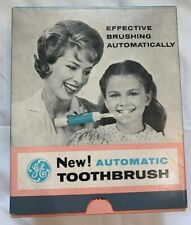GENERAL ELECTRIC AUTOMATIC TOOTHBRUSH VINTAGE RETRO BRAND NEW WITH BOX
