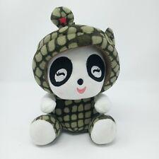 """Chinese Zodiac Panda in Snake Costume Plush Stuffed Animal 8"""" Cute Plushie"""