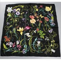FABULOUS 100% Mulberry Real Silk Scarf Shawl Wrap Head Neck Women Square Scarves