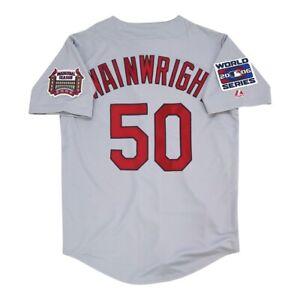 Adam Wainwright St. Louis Cardinals 2006 World Series Road Jersey Men's (M-2XL)