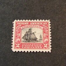 Us Stamp Scott# 620 Norse-American Issue 1925 Mnh L180