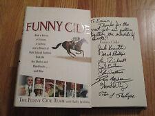 JACKSON KNOWLTON plus 7 tEAM OF BUDDIES signed FUNNY CIDE Book COA