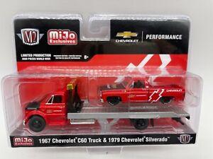 M2 Machines MiJo 1967 Chevy C60 & 1979 Silverado 1 of 3000 WW  Square Body Truck