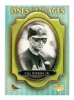 Cal Ripken Jr. #O2 (2000 Upper Deck Legends) Ones for the Ages, Orioles, HOF