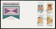 GRENADA FDC 1989 COVER DISCOVERY OF AMERICA COMBO