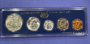 1947-P BU to Gem Unc. U.S. Mint Coins in a Special Mint Set Government Case Nice