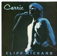 "Cliff Richard - Carrie 7"" Single 1980"
