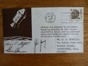 USA APOLLO 10 A JOURNEY TO THE MOON P/M CAPE CANAVERAL MAY 18 1969