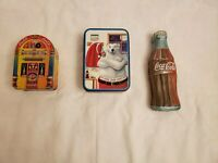 Vintage Coca-cola Collectable Tins Lot