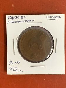Newfoundland  Canadian - R & I. S. Rutherford - 1/2  Penny Token St. Johns