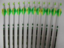 Easton Axis 5mm 340 Hunting Carbon Arrows! Crested/Dipped Bohning Blazer Vanes