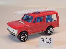 Majorette 1/60 Nr. 246 Range Rover Feuerwehr Mannschaftswagen Nr. 3 #728