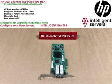 HP Dual Channel 4Gb PCIe Fibre HBA  -  AE312A