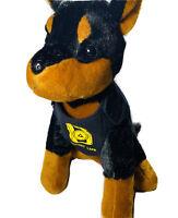 Protect Life Police Dog K9 Stuffed Plush Toy German Shepherd