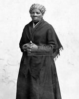 HARRIET TUBMAN, CIRCA 1885 - 8X10 HISTORIC PHOTO (SP102)