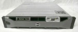 "Dell EqualLogic PS4100E 2U 6x 1TB SAS 7.2k 3.5"" iSCSI SAN Array 2x Type 12 Ctrl"