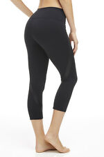 FABLETICS Black CORFU CAPRI  Workout Yoga Pants SIZE X-LARGE XL