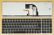 for HP Pavilion DV7-7000 dv7t-7000 M7-1000 Keyboard US&Canadian Backlit Silver