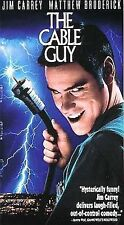 The Cable Guy (VHS, 1996, Closed Captioned) - Starring Jim Carrey