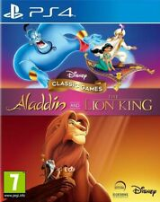 Disney Classic Games: Aladdin and the Lion King      PS4  playstation 4