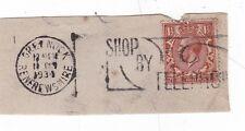 GB 1934 negozio telefonicamente Slogan sul pezzo Greenock CD in buonissima condizione