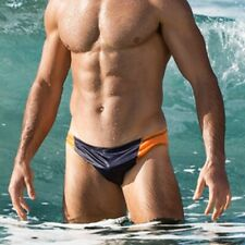 Men's Sexy Swim Briefs Hot Suirf Beach Swimwear Man Swimming Trunks Swimsuit 431