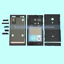 CHASSIS + FRAME + BOTTOM COVER + FULL HOUSING FOR SONY XPERIA ACRO S LT26W BLACK