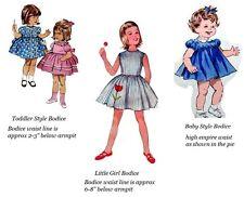 Adult Baby Sissy Little Extra's ~ Li'l Girl Bodice Upgrade Binkies_n_Bows Dress
