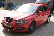 2010 SEAT LEON 1.4 TSI CAXC, RED LS3H, 6 SPEED GEARBOX LHY, WHEEL NUT, BREAKING