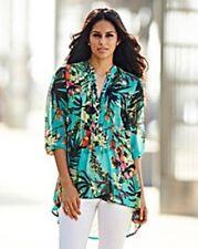 Embellecido Dip Dobladillo túnica verde señoras UK Size 16 Box45 72 o