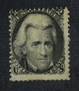 CKStamps: US Stamps Collection Scott#73 2c Jackson Unused NG