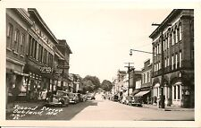 Scene on Second Street in Oakland MD RP Postcard