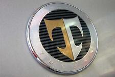 """Hyundai Tiburon 2001-2006 OEM GENUINE  TUSCANI """"T"""" HOOD  Emblem 863202C000"""