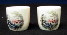 Pair  of New Devon Pottery, Newton Abbot, made in England, miniature cups