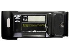 Nikon dorso data MF-21 per F801, F801s, N8008, N8008s. Data back.