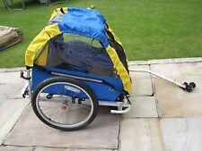 Prestazioni BABY / BAMBINO / KID / bambini transito RUMBLE Doppio Sedile BUGGY Rimorchio Bicicletta