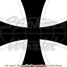 "GERMANY German AirForce LUFTWAFFE Aircraft Roundel 100mm (4"") Vinyl Sticker Deca"