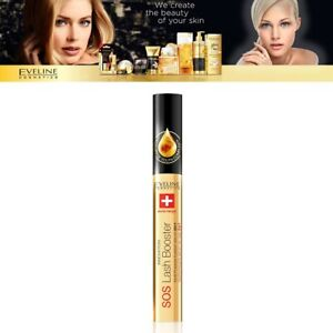 Eveline SOS Lash Booster Eyelash Primer Conditioner Serum 5in 1 with Argan Oil