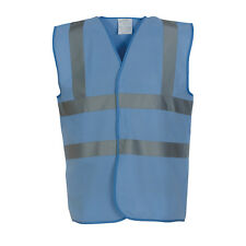 Yoko Hi Vis Waistcoat High Viz Safety Visibility Vest Reflective Jacket (HVW100)