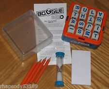 Boggle To Go Travel Word Game 2005 Hasbro letter cubes