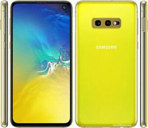 "Samsung Galaxy S10e 5.8"" Dual SIM SM-G970F/DS Unlocked Yellow w/ Free Speaker"
