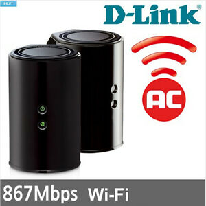D-Link Wireless AC 1200 Cloud App-Enabled Dual-Band Gigabit Router (DIR-850L)