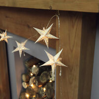 3M BATTERY OPERATED INDOOR CHRISTMAS DECORATION STAR FAIRY STRING LED LIGHTS