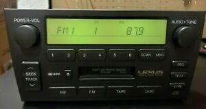 98-03 LEXUS GS300 GS400 RADIO HEAD TAPE PLAYER CD CONTROL PIONEER 86120-3A522