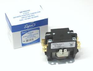 Supco Contactor DP40242 40 Amp 24 Volt 2 Pole
